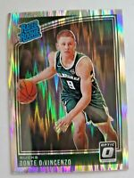 2018-19 Panini Donruss Optic Prizm Shock Donte Divincenzo #164 Rated Rookie