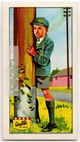 Humming And Singing Of Telegraph And Telephone Wires Vintage Ad Trade Card