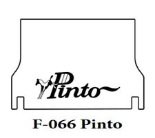 1971 1973 Ford Pinto Trunk Rubber Floor Mat Cover with F-066 Pinto