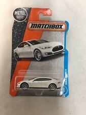 Matchbox Tesla Model S #026 MBX '16 Collection White RARE!!!