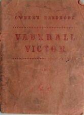 Vauxhall VICTOR officina workshop manual ts371 / 1 maggio 1957 molto rara
