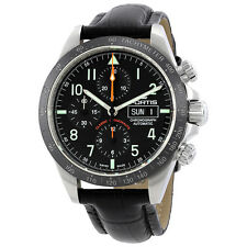 Fortis Classic Cosmonauts P.M. Chronograph Automatic Mens Watch 401.26.11 LCI.01