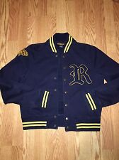 RARE Ralph Lauren Rugby varsity Jacket Mens M DISCONTINUED