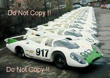 Porsche 917 Outside of the Factory 1969 Photograph