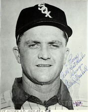 William Marshall Chicago White Sox Signed Autographed Personalized 7x9