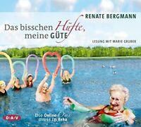 RENATE BERGMANN - DAS BISSCHEN HÜFTE,MEINE GÜTE 3 CD NEW