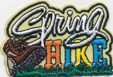 Girl Boy Cub SPRING HIKE Hiking Fun Patches Crests Badge SCOUTS GUIDE trip day