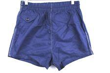 VTG 50s Manhattan Mens Retro Swim Wear Trunks NYLON Blue  Shorts XS 28 Big Boys