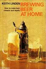 Keith Linden BREWING BEER AT HOME:  HOW TO MAKE BEER CHEAPLY AND LEGALLY 1971 SC