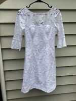 Lilly Pulitzer Allyson Dress Floral Vines Lace Size 00 New W/Tag ($278 Retail)