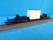 Marklin 4618 DB Well Wagon with Crate Bahia 60-ies