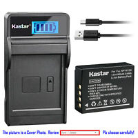 Kastar Battery LCD Charger for Fujifilm NP-W126 NP-W126s BC-W126 & Fuji X-PRO2