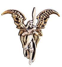Pendentif Ange Et Fée Archange Michaël En Étain Livré Dans Une Boite Écrin