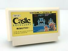 Castle Excellent - Jeu Nintendo Famicom JAP Japan