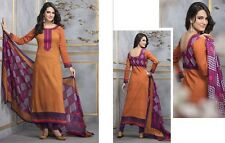 Elegant Cotton Designer Printed Unstitched Dress Material Salwar Suit No SB124
