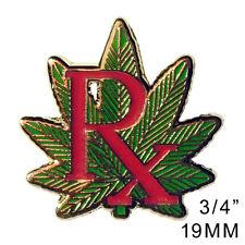 Medical Marijuana lapel hat pin