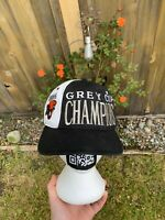 1994 BC Lions Starter CFL Vintage Snapback Hat Grey Cup Champions - EUC