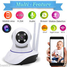 Wireless WiFi 1.0MP HD Network H.264 P2P HOME Security IP Camera IR Night Vision