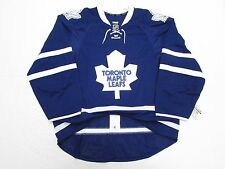 8c25fed4a Toronto Maple Leafs Authentic Home Team Issued Reebok Edge 2.0 7287 Jersey  Sz 56