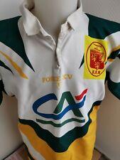 superbe  maillot de rugby FFR dordogne FORCE XV n°17  taille xl vintage