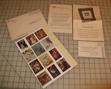 1949 METROPOLITAN MUSEUM of Art Stamp Minitaures Promotional Letter/Packet