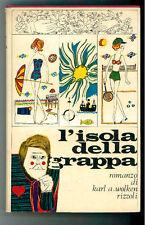 WOLKEN  KARL A. L'ISOLA DELLA GRAPPA RIZZOLI 1965 I°EDIZ. SIDERA