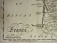 1797 MAP ~ FRANCE + 57 PAGE TEXT ARTICLE HISTORY RELATIONS WITH BRITAIN ASSEMBLY