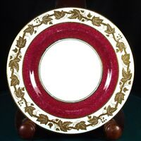 Wedgwood Whitehall Powder Ruby 6 Inch Tea Plates - W3994 - 1st Quality