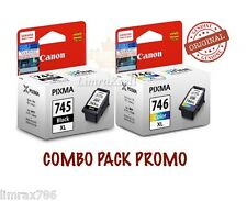 GENUINE CANON PIXMA PG745 XL & CL746 XL INK CARTRIDGE FOR PIXMA MG2570 & MG2470