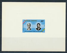 GABON  DELUXE PROOF GISCARD VISIT 1976