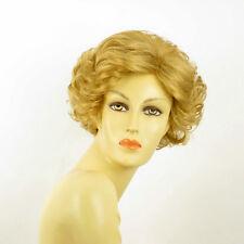 Perruque femme courte blond doré JULIETTE 24B