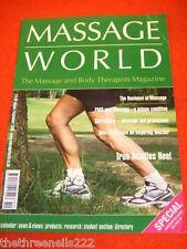 MASSAGE WORLD - SHIRODHARA - AUG 2006