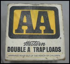 EMPTY WINCHESTER AA TRAP LOADS 12 GA. SHOTGUN SHELL BOX