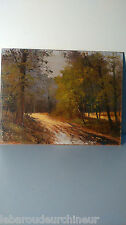 peinture signée Georges.GUERIN. Painting signed G.Guerin