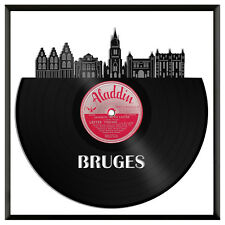 Bruges Vinyl Wall Art Cityscape Souvenir Anniversary Framed Home Decor Gift