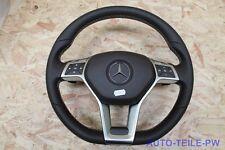 Mercedes W207 W211 W218 W172 Sport Lenkrad Multifunktion Airbag Braun