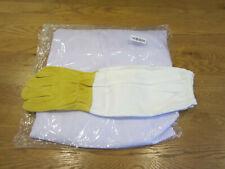 Professional Beekeeping Suit Jacket Veil Smock Dress & Bee Protecting Gloves UK