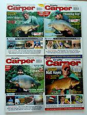 4 x Crafty Carper Magazines - Jul, Aug Sep 2002 - Aug 2005