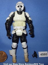 Star Wars 2009 BIKER SCOUT Legacy Collection 3.75 inch Figure COMPLETE