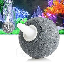 Aquarium Bubble Air Stone Aerator Fish Tank Pond Pump Hydroponics Disk Diffuser