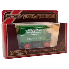 Matchbox Yesterear 1919 Walker Electric Van Lucas Diecast Model Y29 Boxed