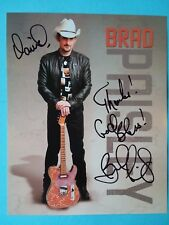Brad Paisley Signed Autographed 8x10 Color Photo Card