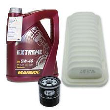 Filterset L für Citroen C1, Peugeot 107, Toyota AYGO / 5W-40 Öl RN0700/0710