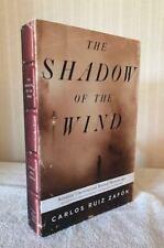 New ListingCarlos Ruiz Zafon, Shadow Of The  00004000 Wind, Advance Manuscript, Signed 1st, Fine