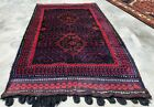 Authentic Hand Knotted Zaidan Balouch Wool Area Rug 4 x 2 Ft (2306 KBN)