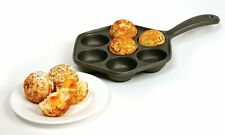 New listing Norpro Cast Iron Danish Aebleskiver Pan - Pancake Puffs - 11.5 Inches