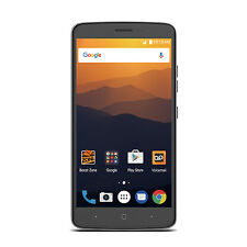 "ZTE Max XL 6"" Android 16GB LTE Smartphone for Boost Mobile - New"