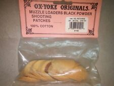 OX-YOKE ORIGINALS Oiled Patches 50-59 Caliber .015 THK P/N:5152 QTY:100