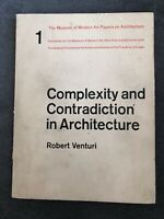 Complexity and Contradiction in ARCHITECTURE 1977 Robert VENTURI MoMA