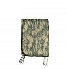US Military Issue Army ACU Digital Camo Wet Weather Poncho Liner Woobie Blanket